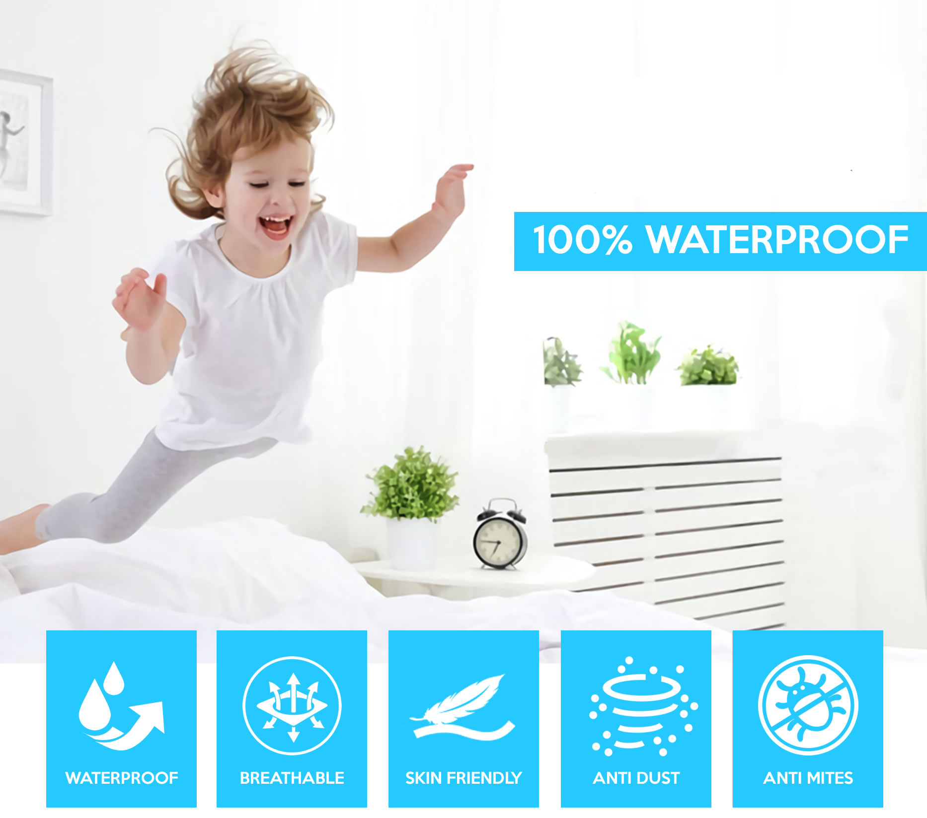 Hypoallergenic Mattress Protector Free Shipping Online